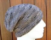 BOGLAND Knitting Pattern Easy Slouchy Beanie Pattern/ Slouch Beanie Pattern for Women Men Teens/ Simple Slouch Hat Pattern/ Knit Straight