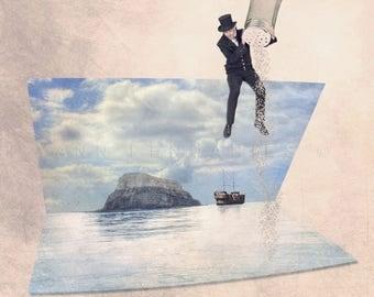 Sea salt print, Ocean Photography, ocean decor, Seaside Decor, beach decor, beach wall decor, beach art, coastal decor, sea photo, nautical