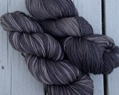 Liminally Exhausted - NEW hand dyed superwash Merino super soft wool blend sock yarn 462 yards 100 grams
