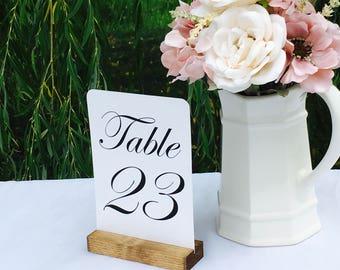 Rustic Wedding Table Number Holders (Set of 10) ON SALE