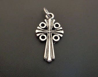 Glory Silver Cross Charm - Low Shipping
