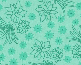 Terrarium (17285-40) Emerald Succulents by Elizabeth Hartman