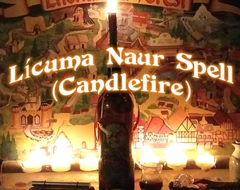Lícuma Naur (CANDLEFIRE SPELL) Faery Glamour, Instant Download Page Urban An Leabhar Book of Secrets, Glamerie Pages, BOS
