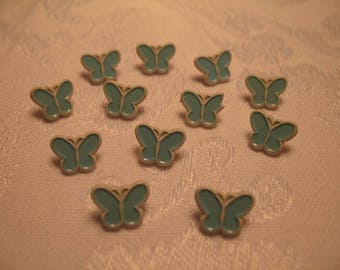 Small Light Blue Butterflies for Your Art and Craft Projects