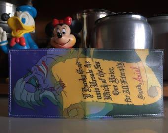 Ursula Disneyland Map Wallet