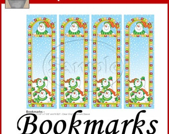 Snow Much Fun Snowman Bookmarks Printable