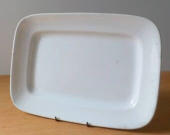 Vintage Johnson Bros. Ironstone Serving Platter • Vintage Rectangular Large Platter • Vintage England Ironstone Serving Platter