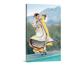 Folklorico, Mexican Dancer, Hispanic, Wall Art, Home Decor, Picture Gift, Fiesta, Tucson Arizona, Fine Art Photography, People Art