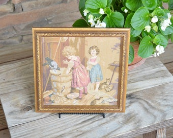 Vintage Country Tapestry Picture