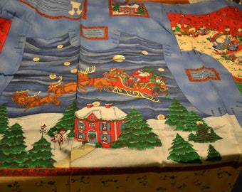 The Night Before Christmas , Unassembled Panel
