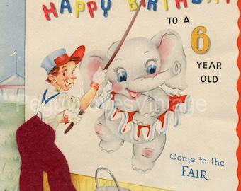 Vintage Children's Birthday Greeting Card Images Vol 2 on CD