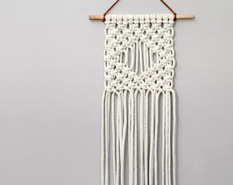 Macrame Wall Hanging. Bohemian Decor. Textile Wall Art. Boho Nursery.
