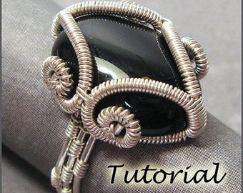 SALE - Mystic Ring - Wire Wrapped Ring Tutorial