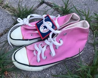 90's NOS converse sneakers Vintage made in USA shoes 1990's kids Kid's