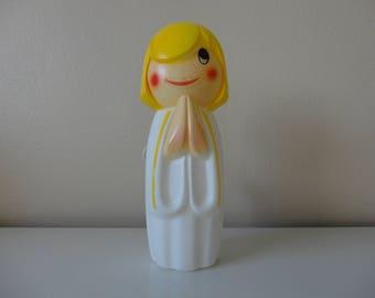 VINTAGE 1971 empire plastics blow mold ANGEL