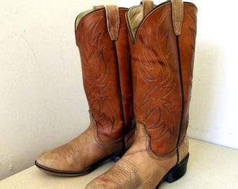Vintage Acme brand Cowboy Boots size 3.5 B or Cowgirl size 5