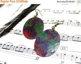 On Sale Hand Painted Oval Earrings Top Selling Jewelry Most Popular Jewelry Gift Ideas for Women