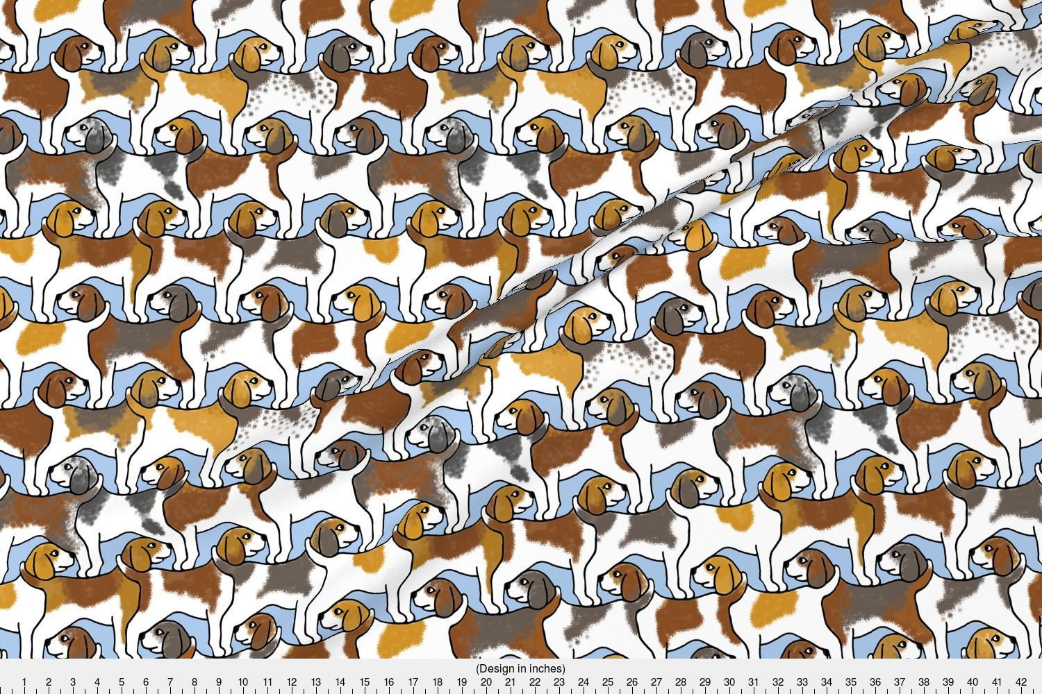 how to make a dog tessellation