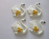 Swan Cabochons, craft, sewing, scrapbooking