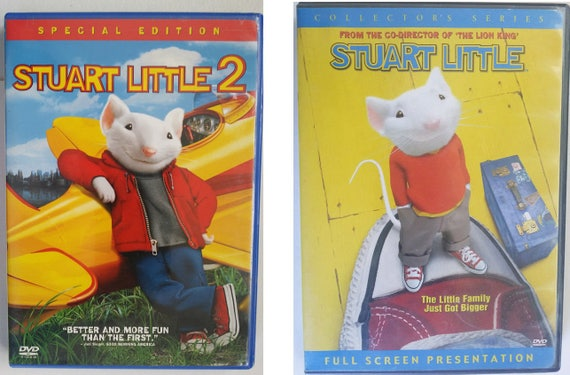 Stuart Little 1 and 2 DVD lot movie fullscreen widescreen childrens family shows