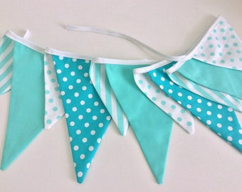 11 flag Circus Flag Bunting / Fabric Garland / Banner -  Childrens room, birthday parties, photo prop