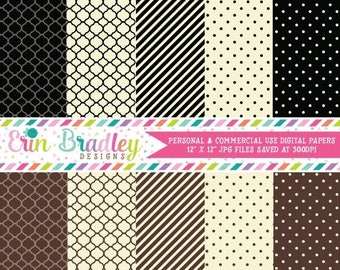 80% OFF SALE Mustache Bash Digital Paper Pack Personal & Commercial Use Scrapbook Papers