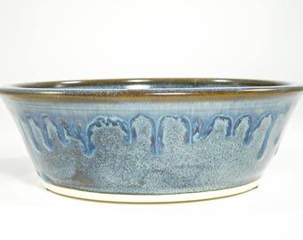 Dog Food Bowl - Pet Food Dish - Dog Bowl - Pet Dish - Pet Bowl - Pottery Dog Dish - In Stock
