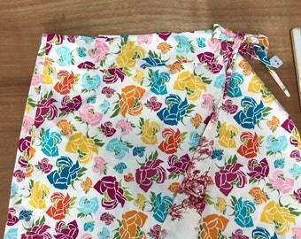 XL Au size 20-22 fully reversible wrap skirt