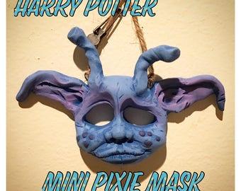 Harry Potter Cornish Pixie Mini Mask Wall Hanging
