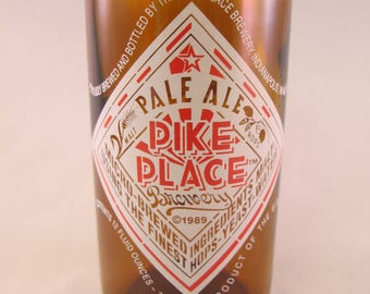 YAVA Glass - Recycled PIKE PLACE Pale Ale Bottle Glass