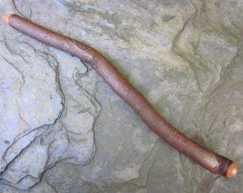 Rare Natural Wood Wand - Root of Hawthorn - Dispels Negativity.