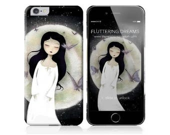 10% Off - Summer SALE Phone Case - Fluttering Dreams - iPhone 5 -  iPhone 6 - Samsung Galaxy