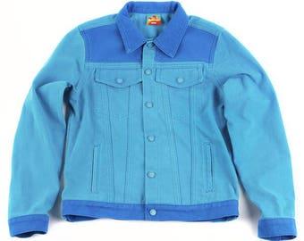Men's Turquoise Denim Jacket