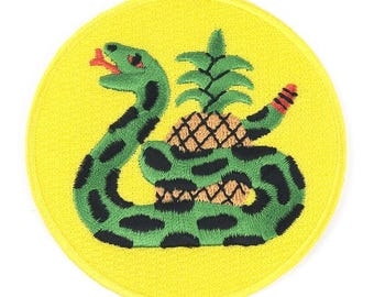 Snake'd Iron On Patch