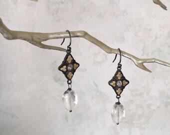 Crystal Princess Earrings