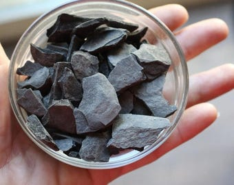 Save25% Slate for paths-Larger 1/3 cup bag for walkways-fairy roads and more-Over 4 Oz Bag of assorted pieces of Slate Stone