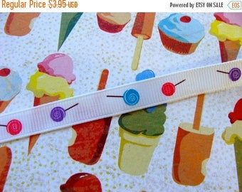 ONSALE 2 Yards Kitsch Sweetest Lollipop Candy Ribbon Perfect for Dolls and Blythe