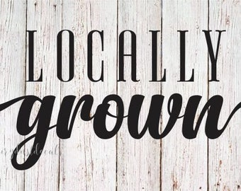Home Grown Decal Etsy - How to make your own vinyl stickers at home