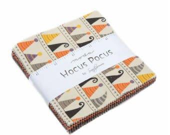 SUMMER SALE - Hocus Pocus - Charm Pack - Sandy Gervais for Moda Fabric