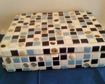 Hand Made OOAK Mosaic Box