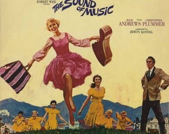 The Sound of Music Soundtrack LP 33 rpm record