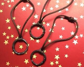 Hand forged xmas tree ornaments