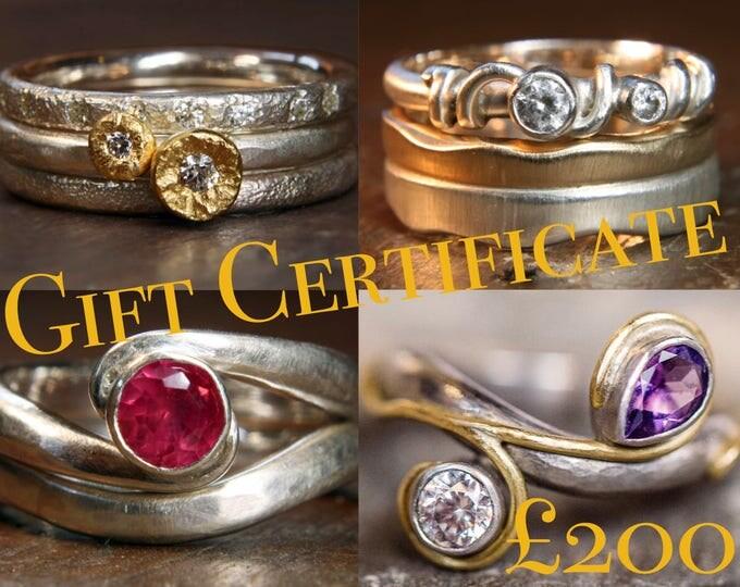 Anna Fine Jewellery Gift Certificate.