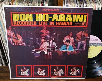 Don Ho Again Recorded LIVE In Hawaii Vintage Vinyl Record