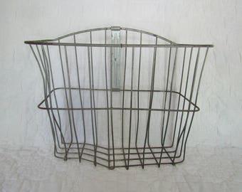 Vintage Wire Bike Basket