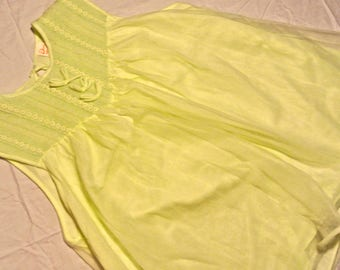 Vintage green babydoll nightgown