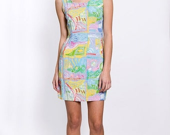 40% OFF The Vintage Pastel Beach House Summer Dress