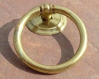 Set of 8 Brass Drawer Rings