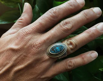 Bisbee Turquoise Memento Ring