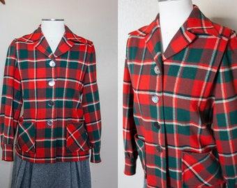 1950s Pendleton 49'er Jacket | L